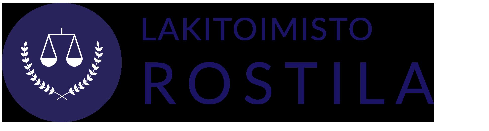 Lakitoimisto Rostila Hyvinkää logo